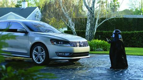Volkswagen's Mini-Darth Vader Ad