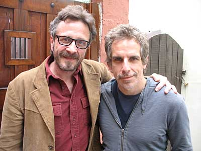 Marc Maron and Ben Stiller