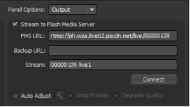 Adobe Flash Live Media Encoder