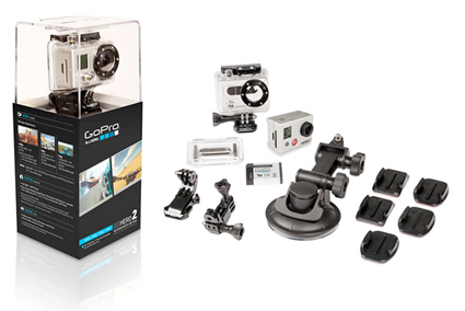 GoPro HD Hero2 and accessories