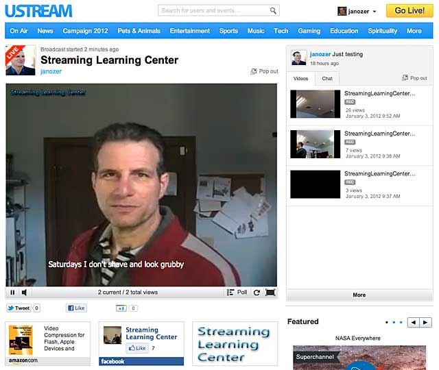 Ustream 1