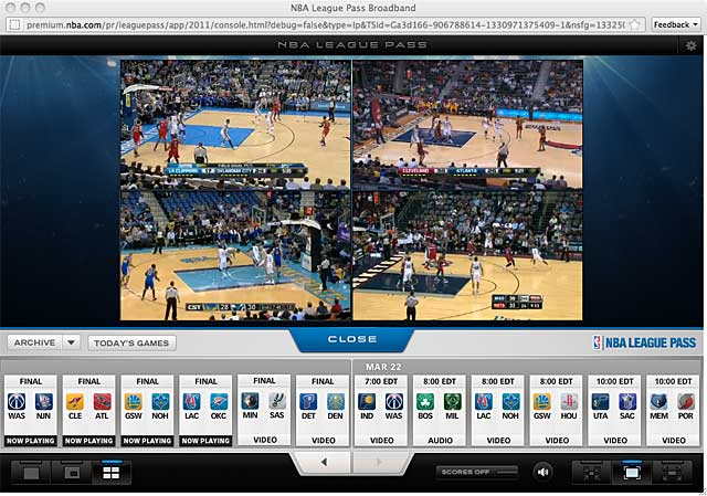 NBA League Pass 1