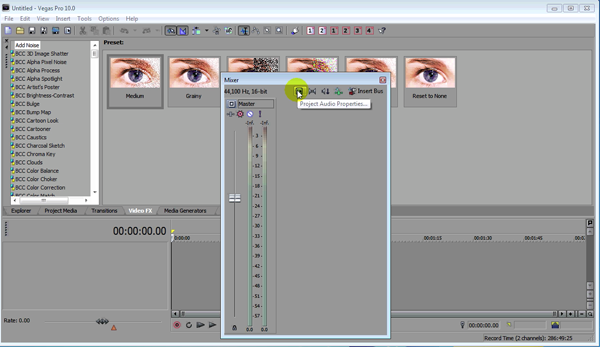 Tutorial: Mixing Audio in Sony Vegas Pro 11 - Streaming
