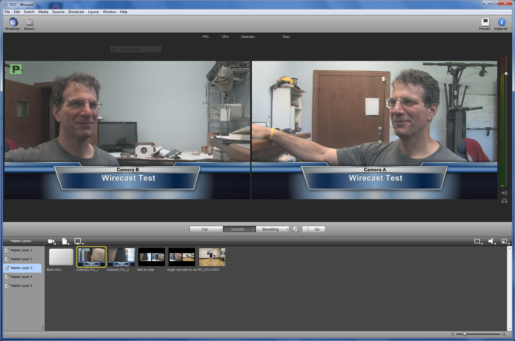 Tutorial Configuring Blackmagic Intensity Pro For A Live Switched Wirecast Webcast Streaming Media Producer