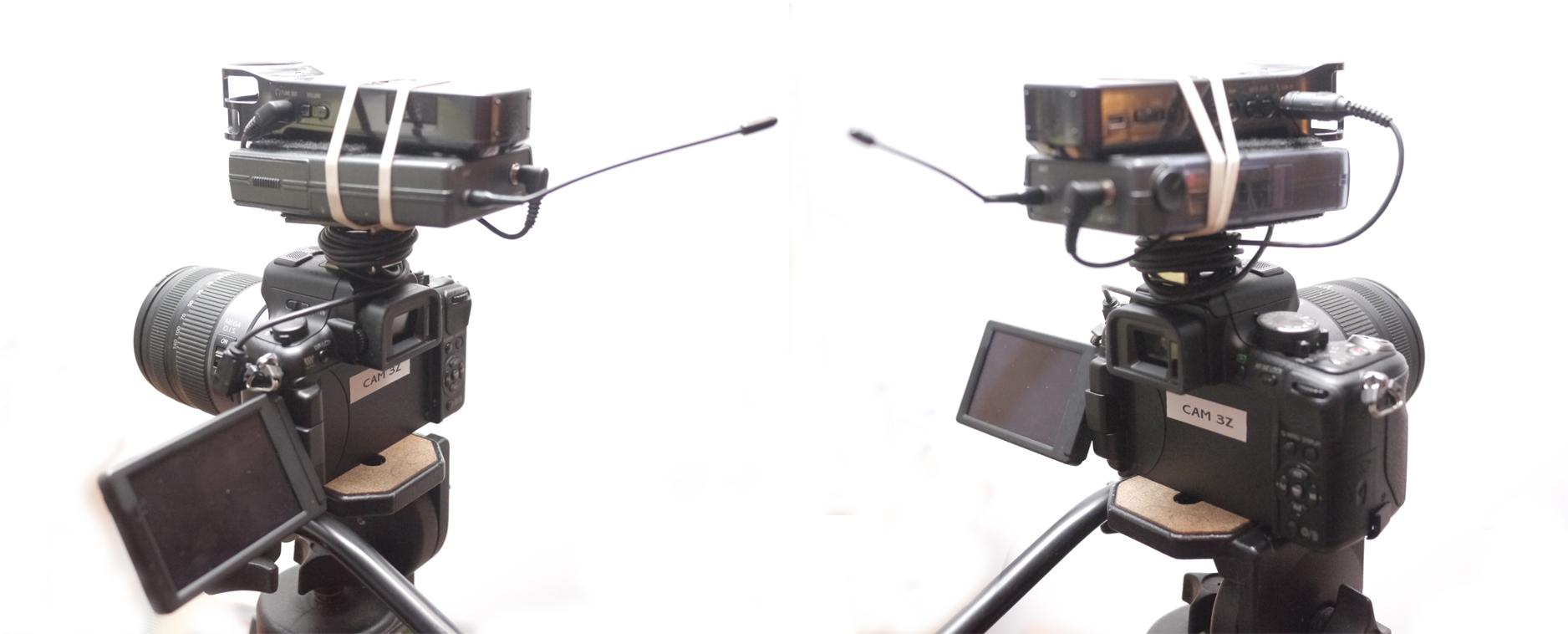 Panasonic GH2 Audio Setup