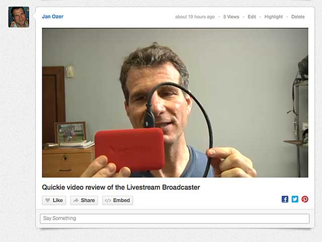 Livestream Broadcaster 5