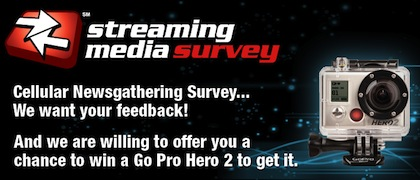 Streaming Media Cellular Newsgathering Survey
