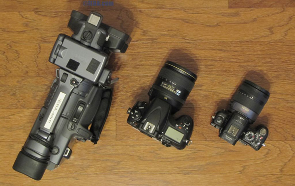 Nikon D800, Panasonic GH2