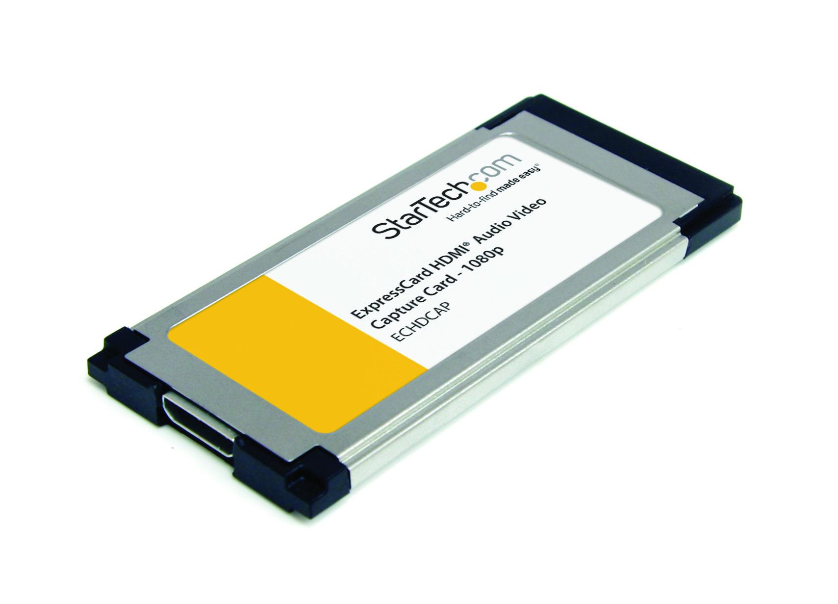 StarTech ExpressCard Video Capture Card