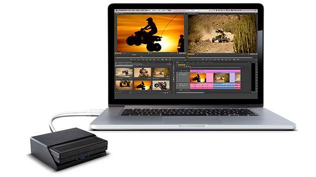 AJA KiStor for MacBook