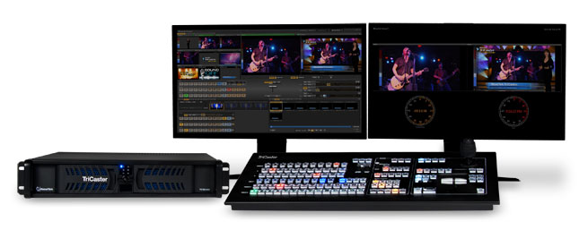 Review: NewTek TriCaster 455 - Streaming Media Producer