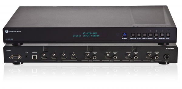 Atlona AT-H2H-44M HDMI Matrix Switcher