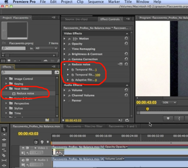 Tutorial: Removing Video Noise with the Neat Video Plug-in ...