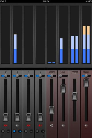 NewTek TriCaster Audio Mixer App