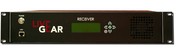 Livegear LGR-1000 Receiver