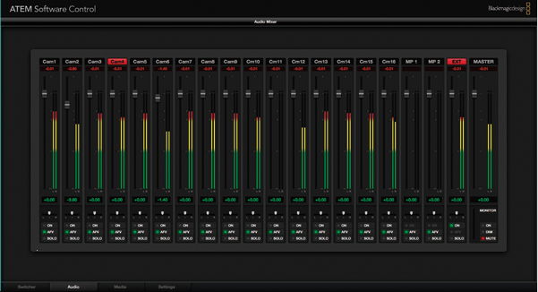 Blackmagic Design ATEM Software Control