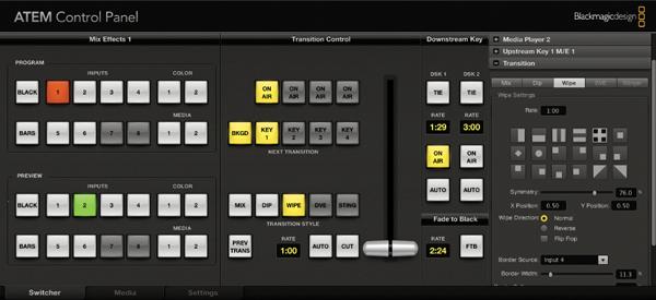 Blackmagic Design ATEM Control Panel