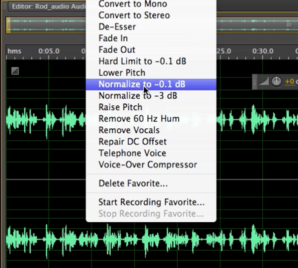 adobe audition cs6 fade out