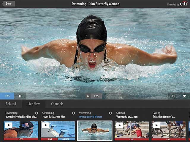 Olympics Screen
