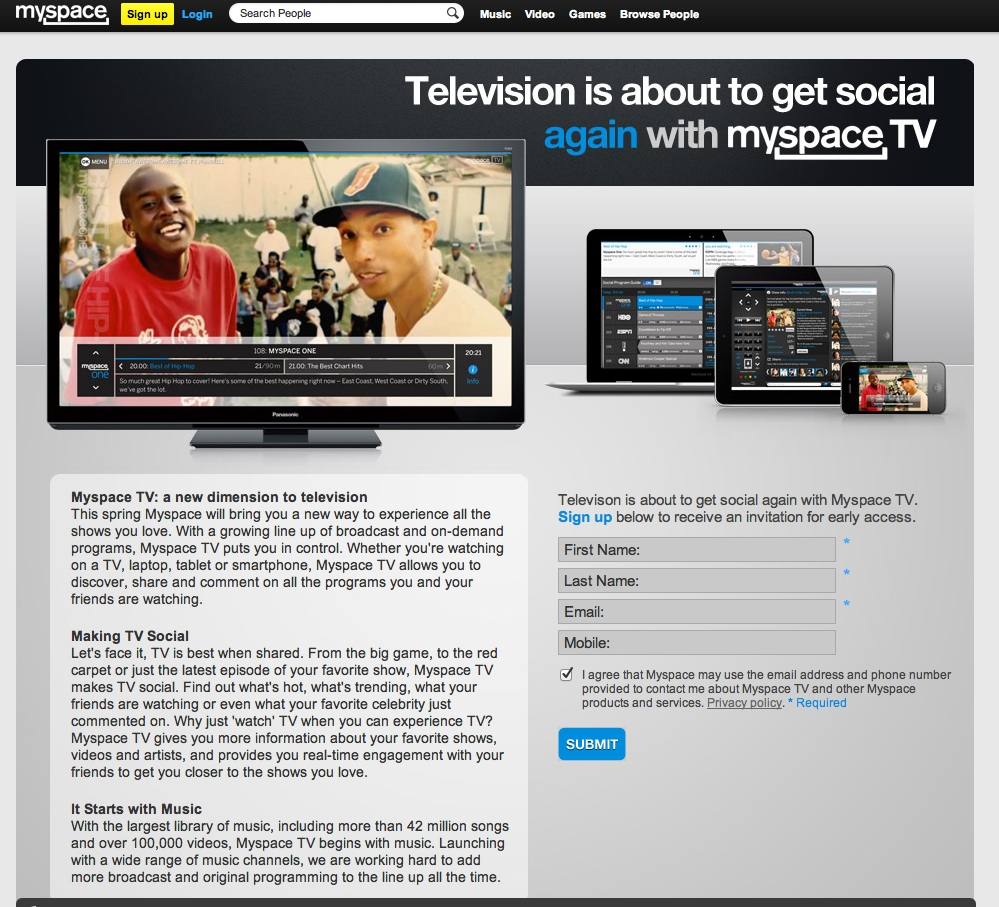 MySpace TV