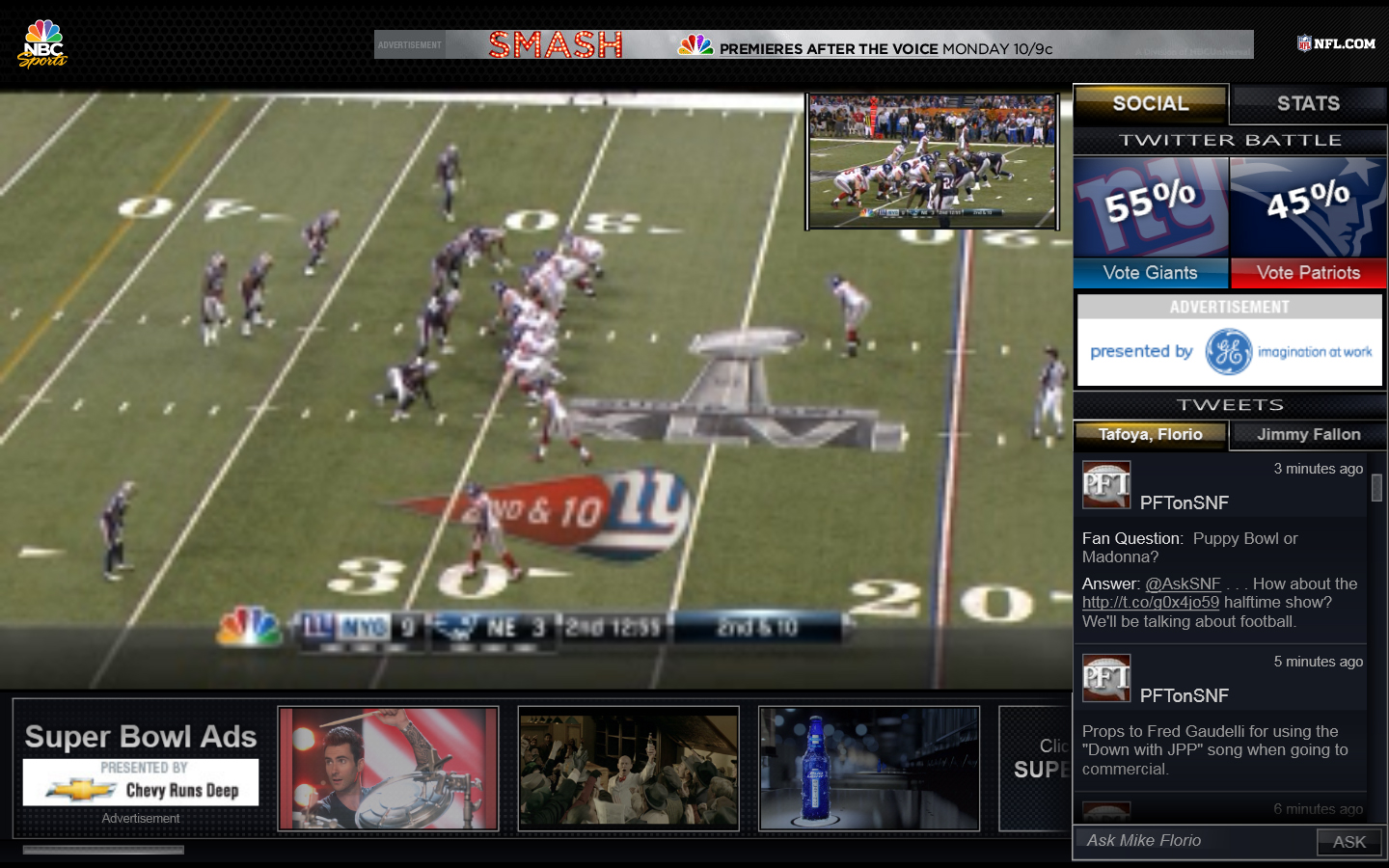 Super Bowl Poor Streaming Quality