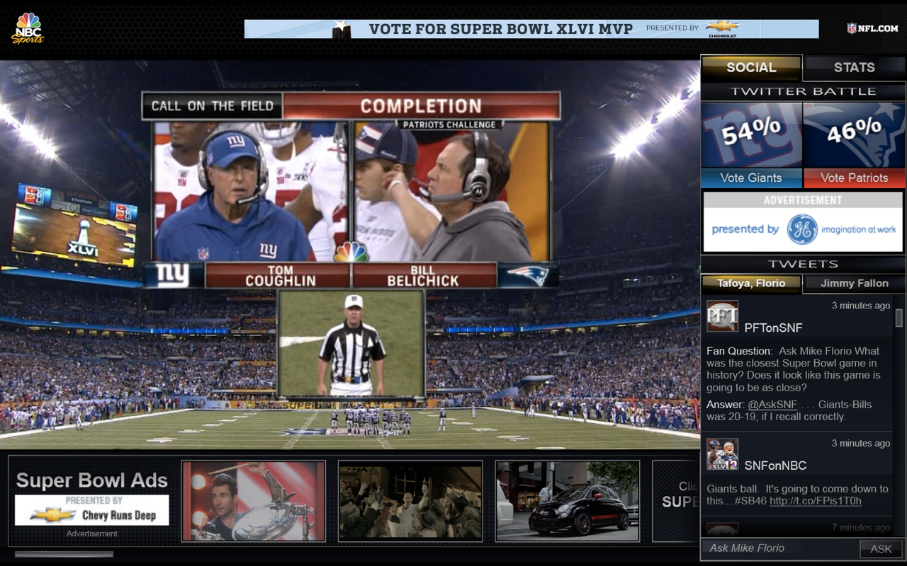 Super Bowl Streaming Time Lag