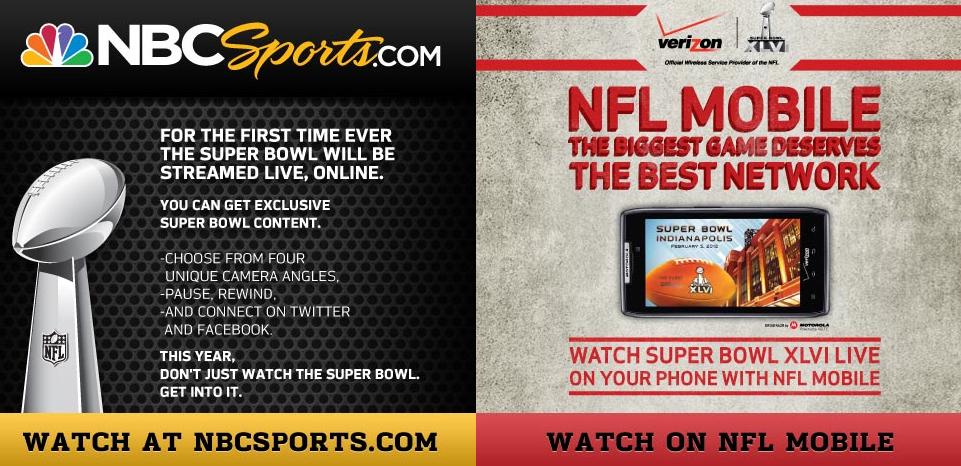 NBC Mobile Super Bowl Ad