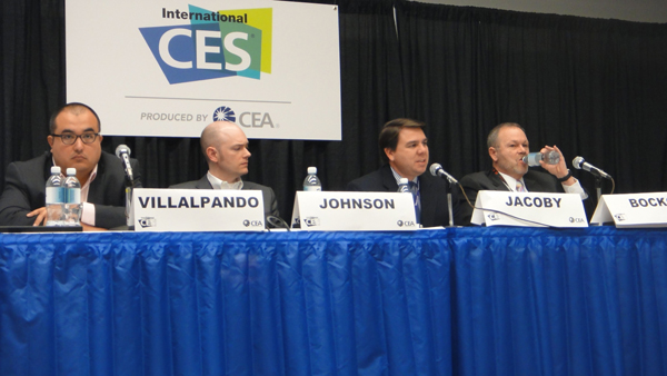 CES Future of TV Panel